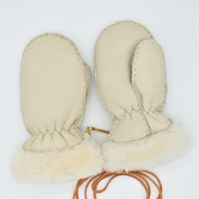 MSMinShu Бежевый Один размер перчатки herman перчатки