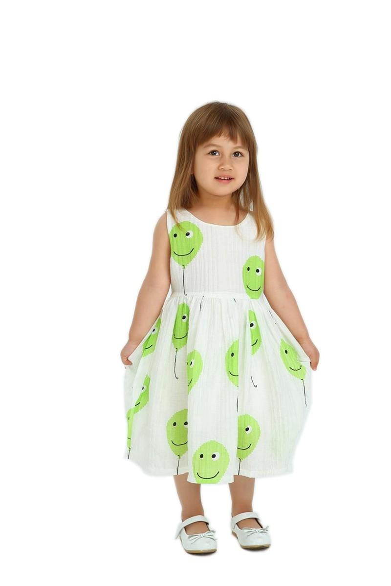 DAWILS Зеленый 5T dinstry dresses sleeveless kids dresses for girls wedding princess party pageant formal dress sleeveless flower girls dress 2018