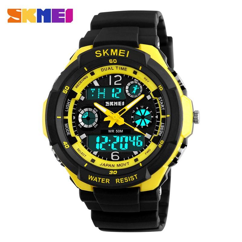 SKMEI Желтый Желтый skmei спортивные часы кварц желтый 9106