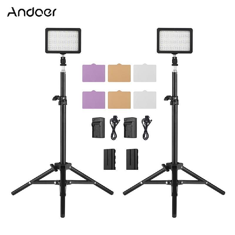 ANDOER черный Стандарт Великобритании nanguan cn 8f 560lm 5600k zooming focusing dimmable led fresnel light for studio video film lighting