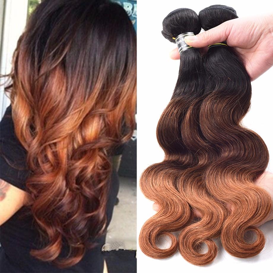 Amazing Star T1B  30 18 20 20 preuvian hair 3bundles body body ombre наращивание человеческих волос t1b  30