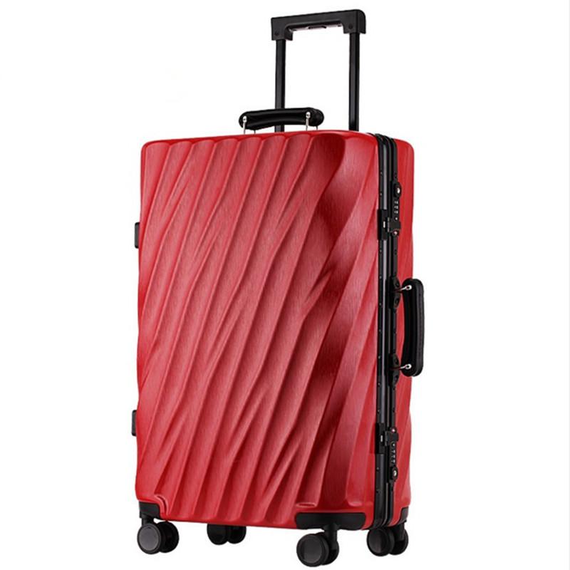 Earth tell Red 24 дюйма pc чемодан для путешествий мультфильм рисунок