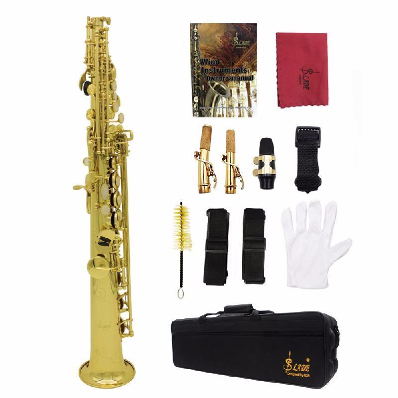 ammoon Золото tenor saxophone free shipping selmer instrument saxophone wire drawing bronze copper 54 professional b mouthpiece sax saxophone