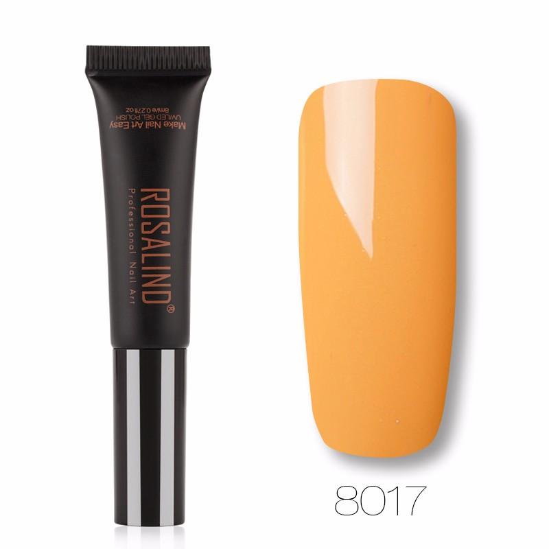 ROSALIND Белый и Золотой гель лак для ногтей pupa lasting color gel 019 цвет 019 sumptuous mane variant hex name c93a56
