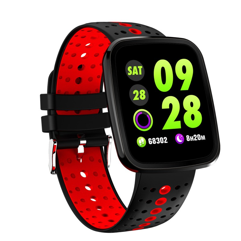 Smart Watch y8 умный браслет 8 умный браслет y2 умный браслет louis will Red Смарт-браслет фото