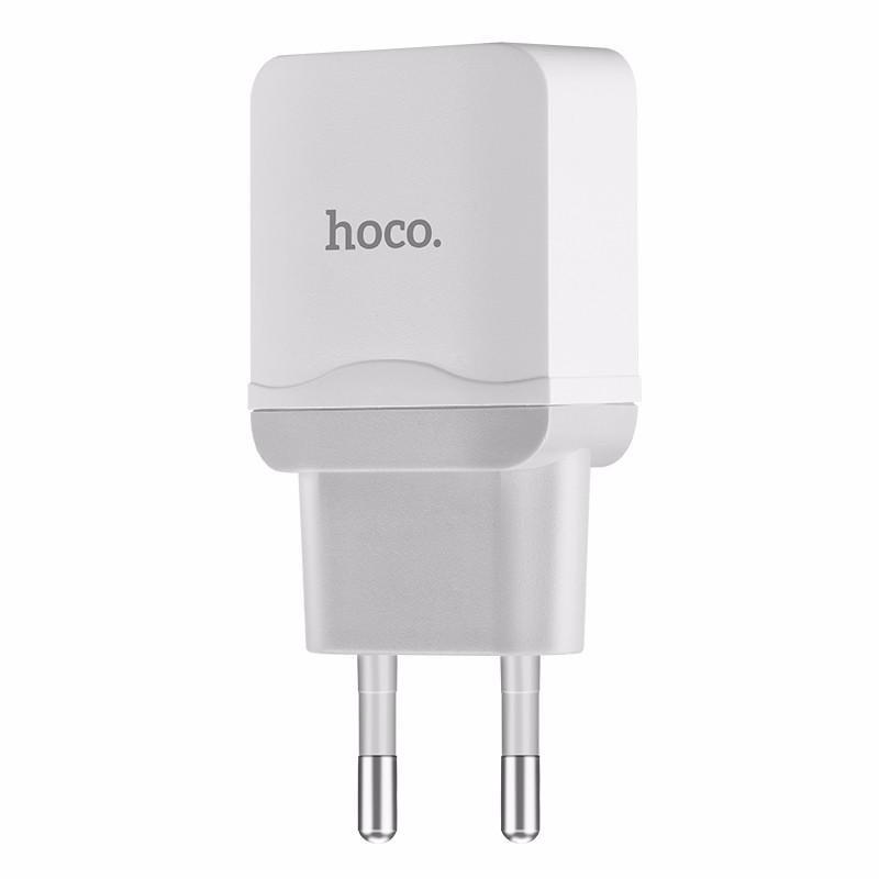 HOCO белый Стандарт ЕС janse football style 20w dual usb eu plug power charger for ipad samsung galaxy tab white