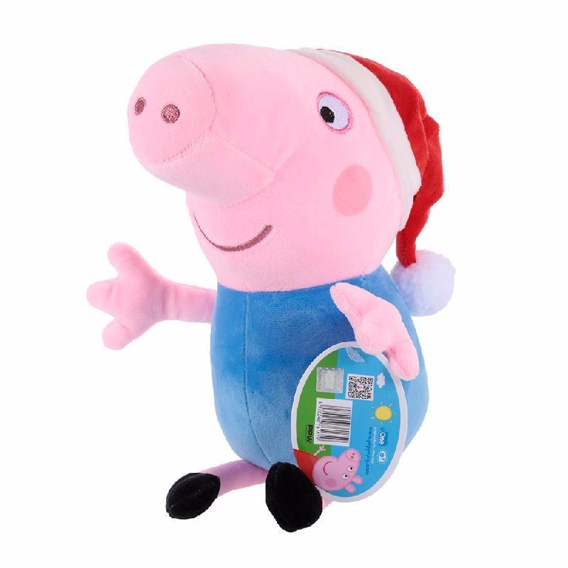 Ametoys Blue свиньи page peppapig 30см плюшевые игрушки peppa pig джордж грязи