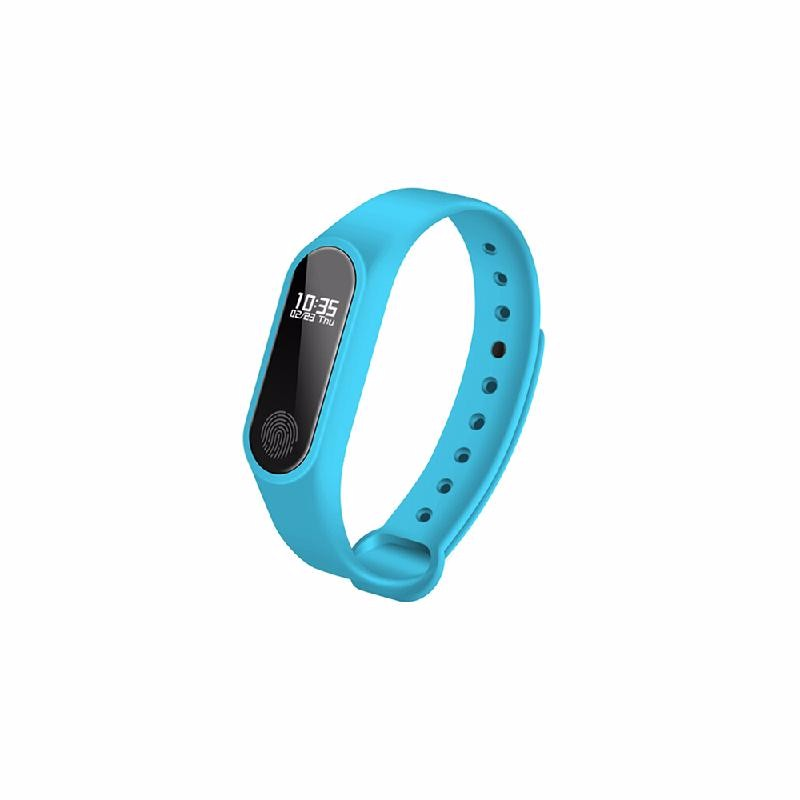 koogeek Blue ot01 in stock new original wristband bracelet with smart heart rate fitness touchpad oled screen 2016