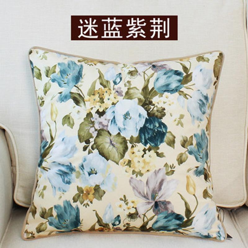kangfeng Розовый цвет подушки декоративные рюшаль подушка