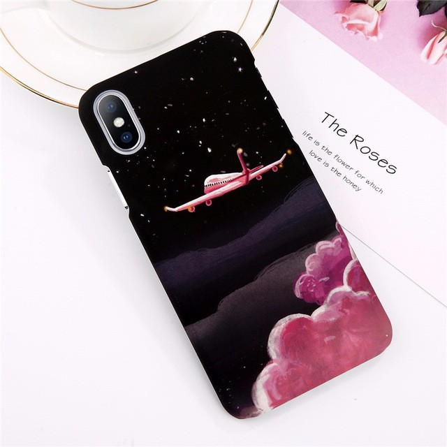 WJ Red iPhone 8 kavaro swarovski rose gold plated pc hard case for iphone 6s 6 mandala pattern