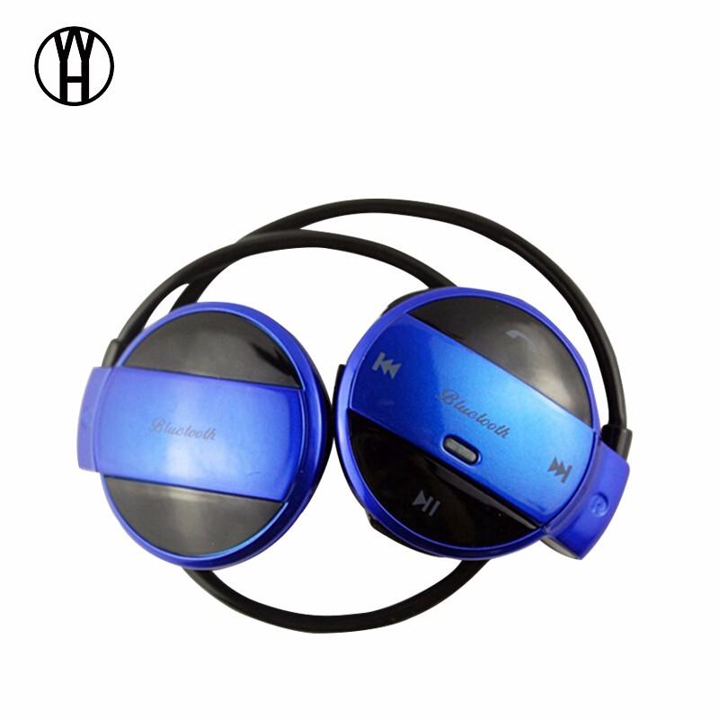 WH Синий цвет wh mini501 bluetooth беспроводные портативные наушники спорт музыка гарнитура hd стерео наушники mic для android ios смартфон