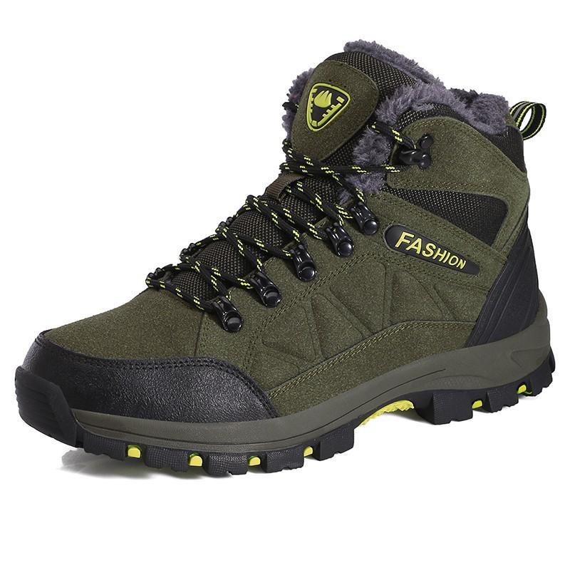Мужские сапоги Обувь для голеностопного сустава Dayocra Темно-зеленый 7 фото