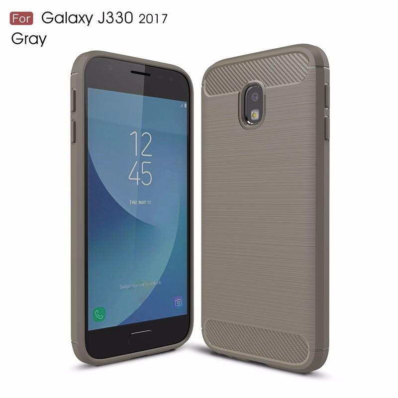 KYKEO Серый Samsung Galaxy J330 2017 EU ultra slim clear phone cases for samsung galaxy s6