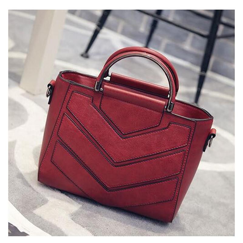 SMOOZA Red женщины кожа pu плеча tote сумки хо��о сумки сумка сумка кошелек