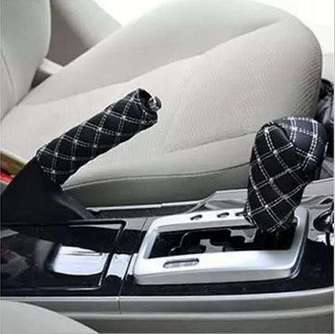 Ручной рычаг ручного тормоза ручного тормоза 2 двухсекционный комплект стойла HOSANTC White фото