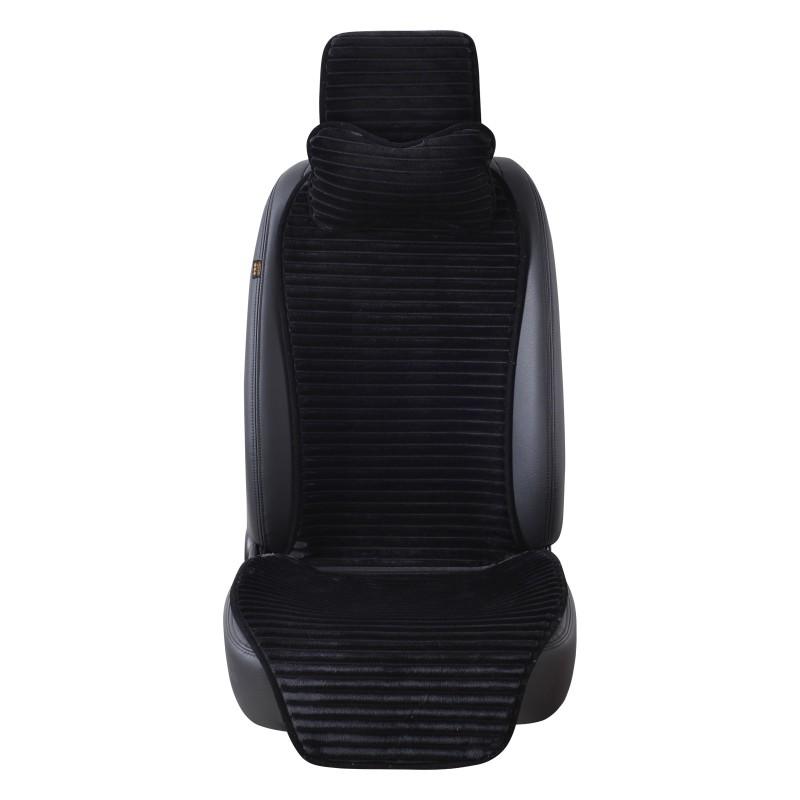 COVERS Черная искусственная плюшевая крышка автокресла new car styling 100