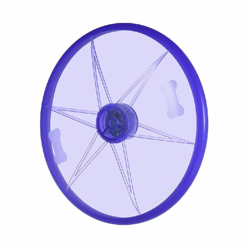 esonmus Пурпурный rgb light flying disc
