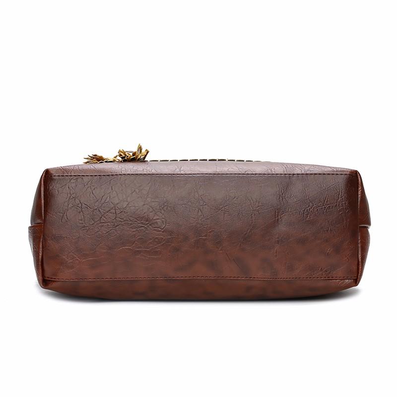 Фото - Kavard Чёрный цвет L 2018 new ladies genuine leather handbags brand design stylish women shoulder shopping bags large retro female cowhide totes sac