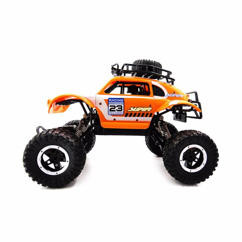 GBTIGER Yellow rc car hsp unlimited 1 10 off road vehicle shell 94107pro original car body 10749 no