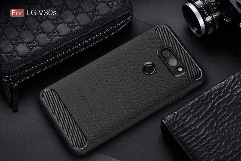 Защитная крышка для телефона LG V30S ThinQ H930DS для LG V30S ThinQ H930DS Защитная крышка для телефона для LG V30S ThinQ H930DS Корпус из тонкой брони Задняя крышка WIERSS черный для LG V30S ThinQ фото