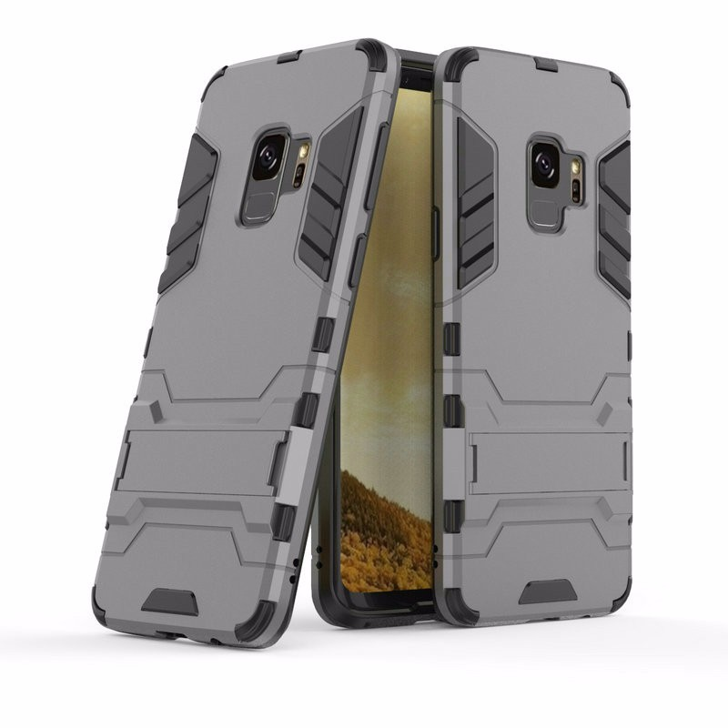 WIERSS Серый для Samsung Galaxy S9 Plus для Samsung Galaxy S9 G960 G960F Ударопрочный жесткий чехол для телефона