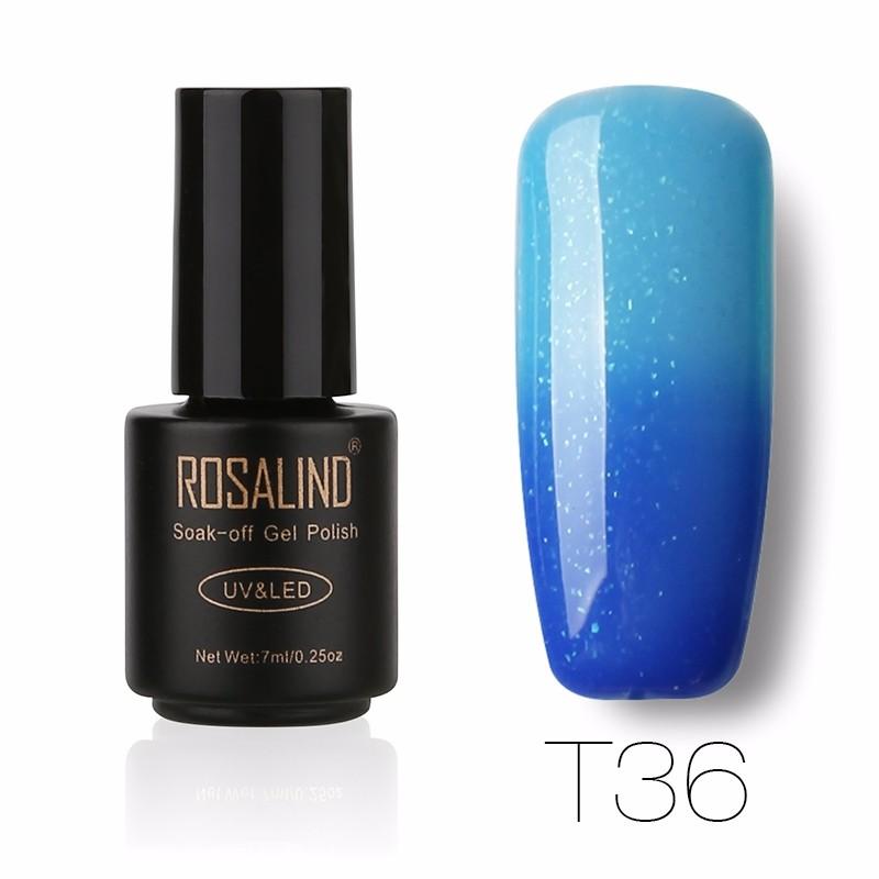 ROSALIND Blue лак для ногтей розовое драже