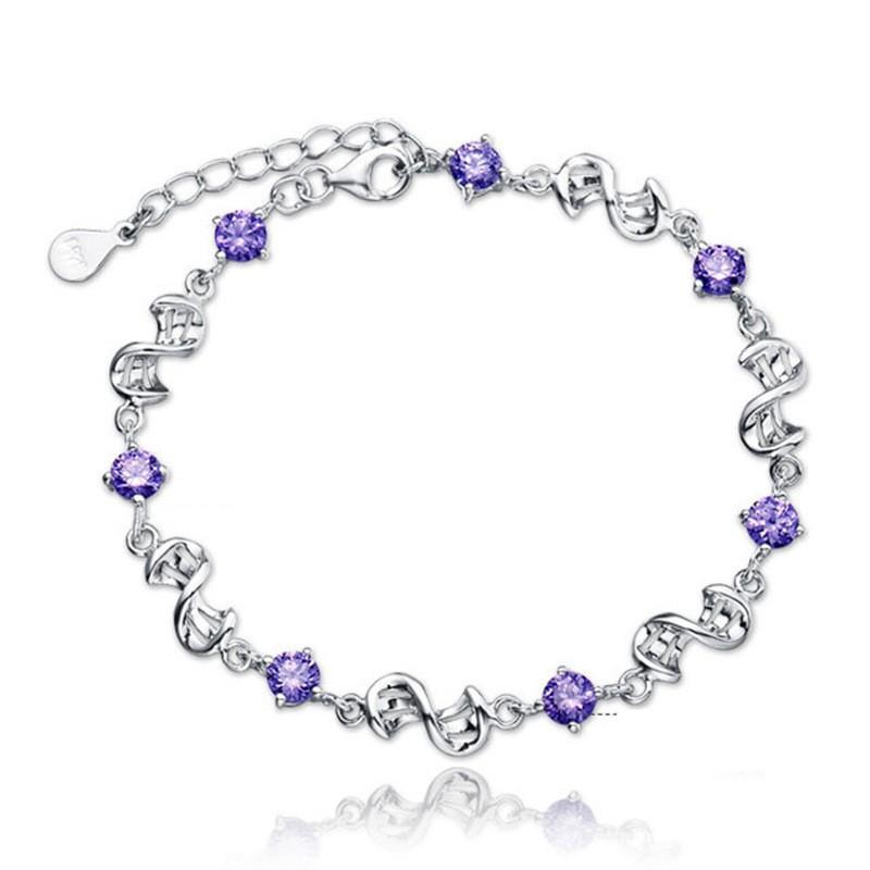 SHDEDE Пурпурный u7 широкий браслет часов реального позолоченные моды мужчин украшения оптовой новой модной уникальный 1 5 см 20 см звено цепи браслеты