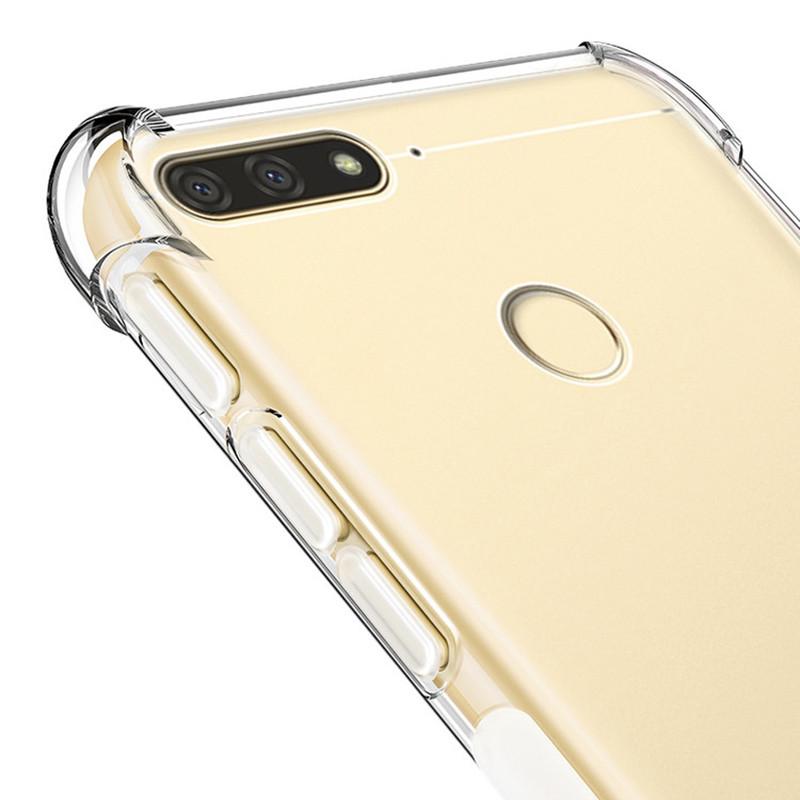 VCMIS прозрачный Y6 Prime 2018 смартфон huawei y6 pro золотой