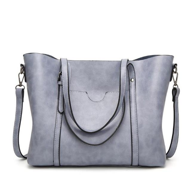 CAROLING ANGEL Светло-синий 32 12 29см женские кожаные дизайнеры высокое качество в полоску седло сумка женская винтажная сумка sac основной небольшая сумка сумки