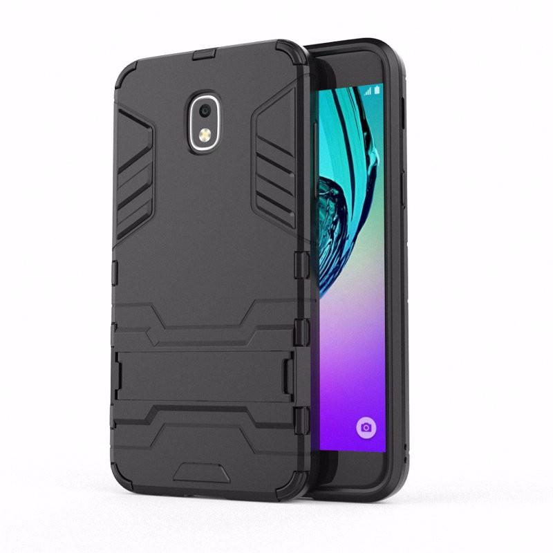 WIERSS черный Ударопрочный жесткий чехол для Samsung Galaxy J3 2018 J3 Star достигает Amp Prime 3