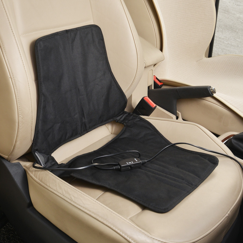 CarSetCity Подогреваемая подушка Встроенная подогреваемая подушка накидка на сиденье heyner карбон с подогревом цвет серый 12v