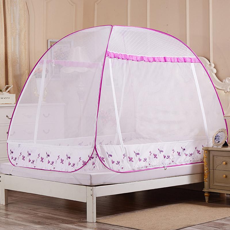 JD Коллекция Трехдверный - розовый Применяется 18 м кровать окна москитные сетки