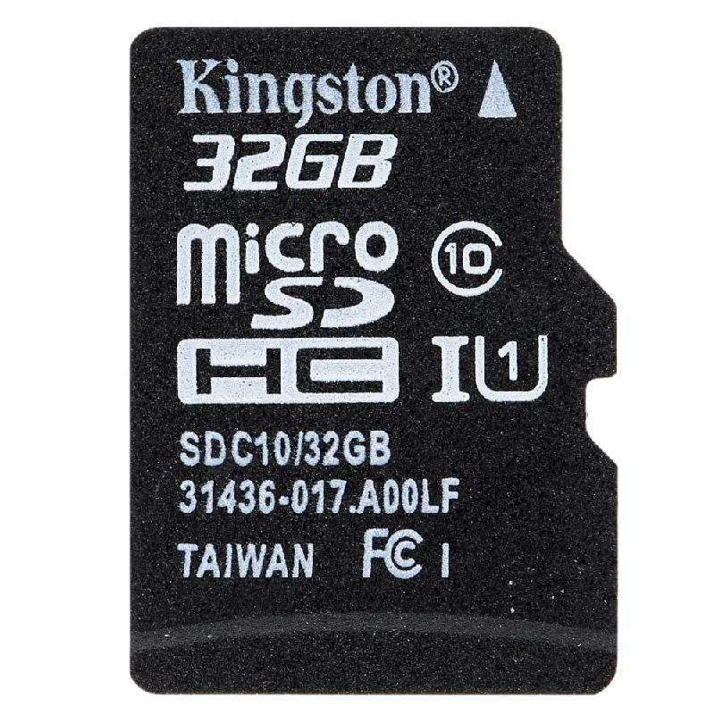 Kingston черный 32GB kingston microsdhc 8gb class 4