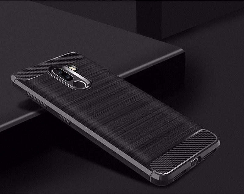 WIERSS черный для Xiaomi Poco F1 WIERSS Защитная крышка для корпуса телефона
