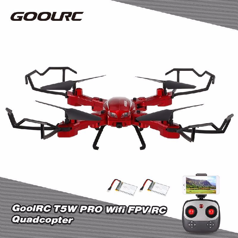 GoolRC Розовый 2017 hot sale hot 2 4g 4ch altitude hold hd camera wifi fpv rc quadcopter drone selfie foldable brand new high quality feb 24