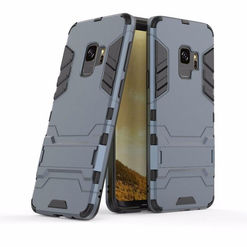 WIERSS Темно-синий для Samsung Galaxy S9 Plus для Samsung Galaxy S9 G960 G960F Ударопрочный жесткий чехол для телефона