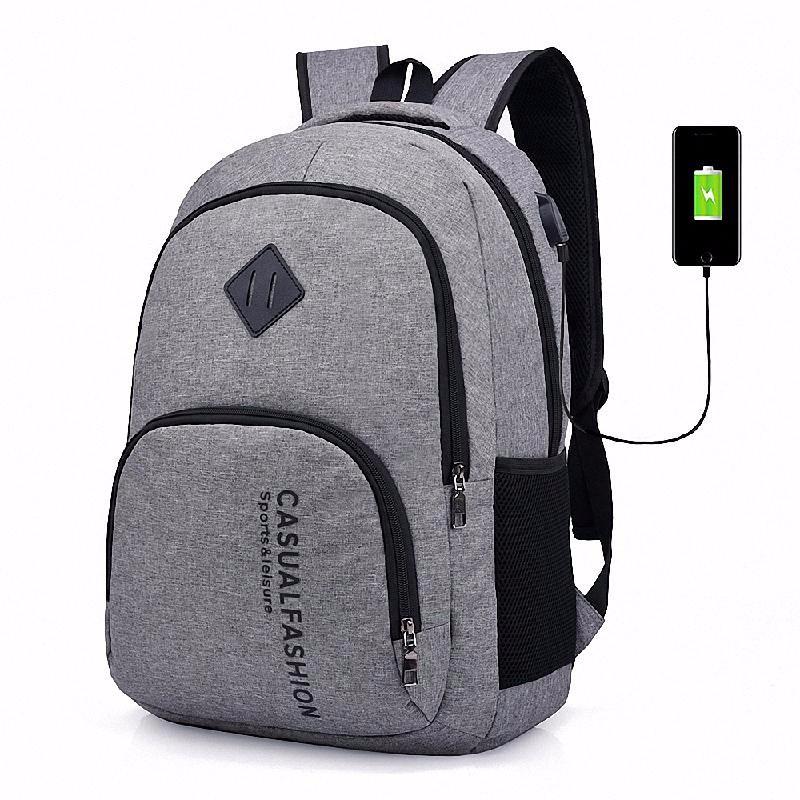 HOMEGEEK Серый new arrival vintage backpack fashion canvas backpack leisure travel school bags unisex laptop backpacks women mochilas