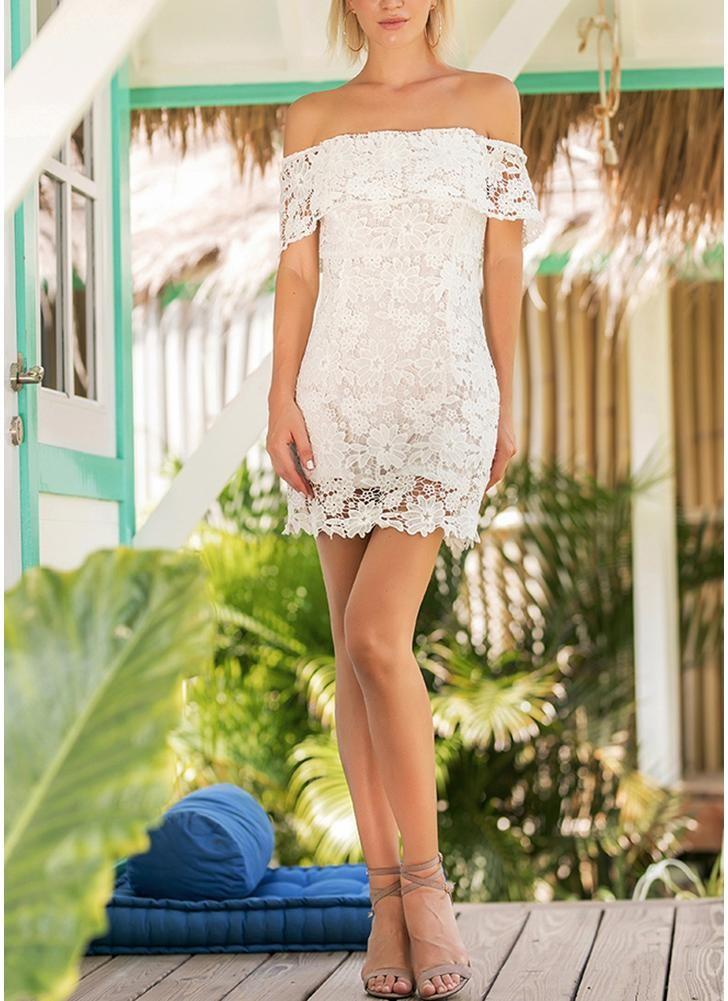 Платье для выпускного вечера малыш платье белый XL фото