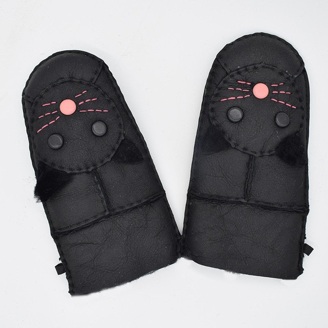 MSMinShu черный Один размер перчатки herman перчатки