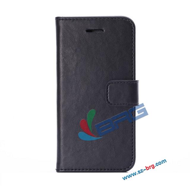 BRG Черный iPhone 6 koolife millet 6 натуральный кожаный чехол кожаный чехол флип чехол держатель карты wrap мягкий чехол для просо 6 холодная кожа черный