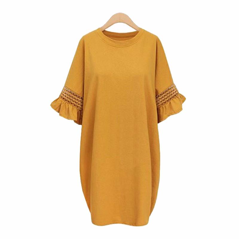 Платье платьев платья выпускного вечера платья платья венчания платья выпускного вечера платья свободного платья SAKAZY Оранжевый желтый 5XL фото