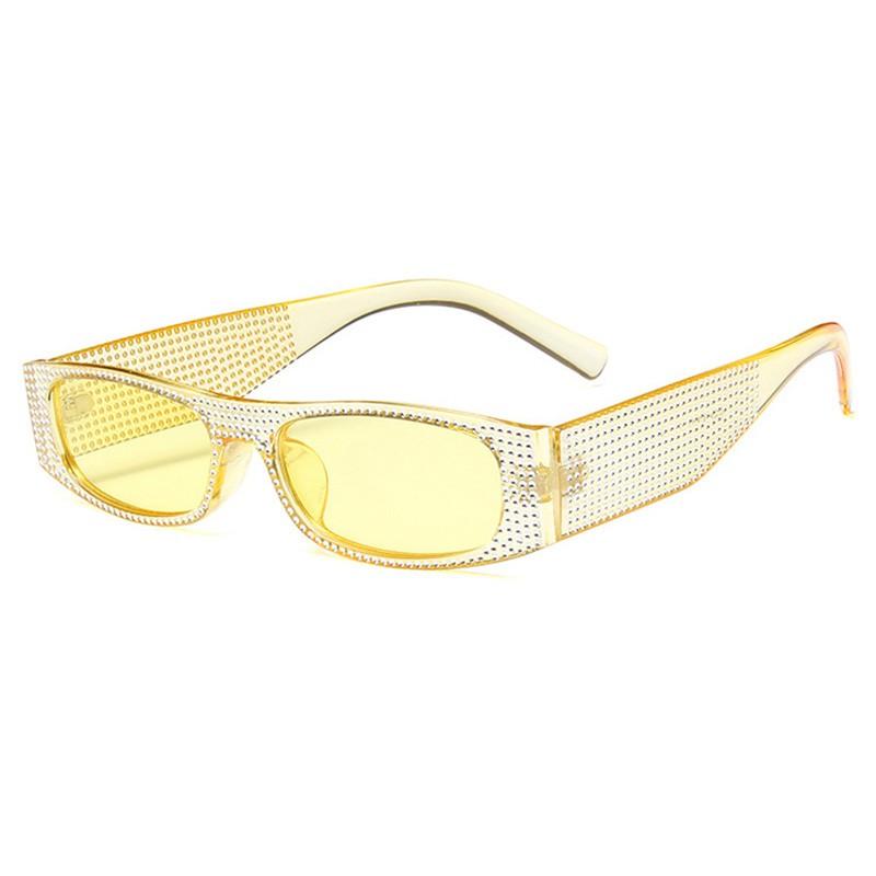SHAUNA Очистить желтый очки женские animal layback girls pink purple