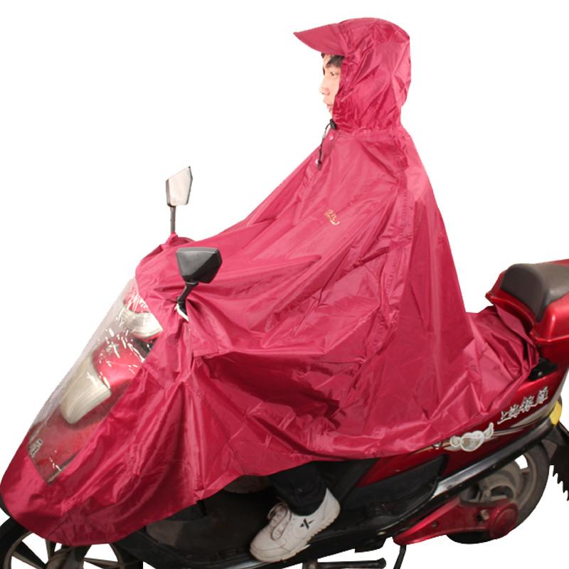 JD Коллекция Красный соус дефолт [супермаркет] рай зонтик дважды jingdong увеличить больше мотоцикл пончо плащ оксфорд светящаяся полоса размер navy j231