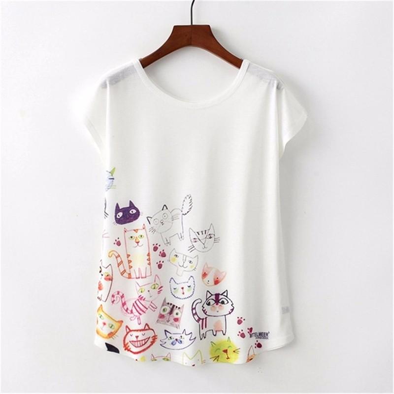SAKAZY Другие M женская футболка other 2015 3d loose batwing harajuku tshirt t a50