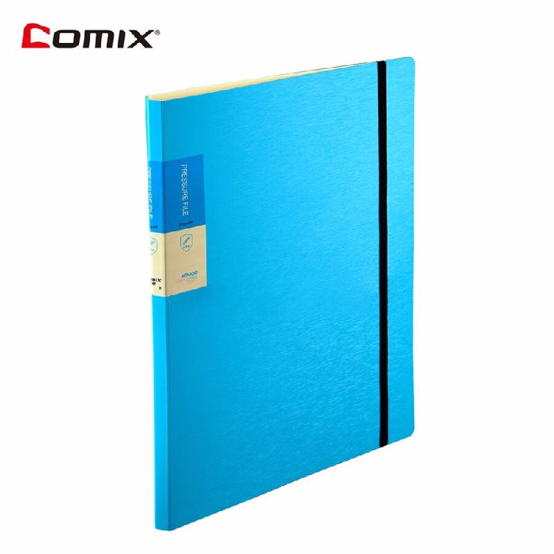 HOMEGEEK Синий ruize multifunction pu leather folder organizer padfolio soft cover a4 big file folder contract clamp with notepad office supply