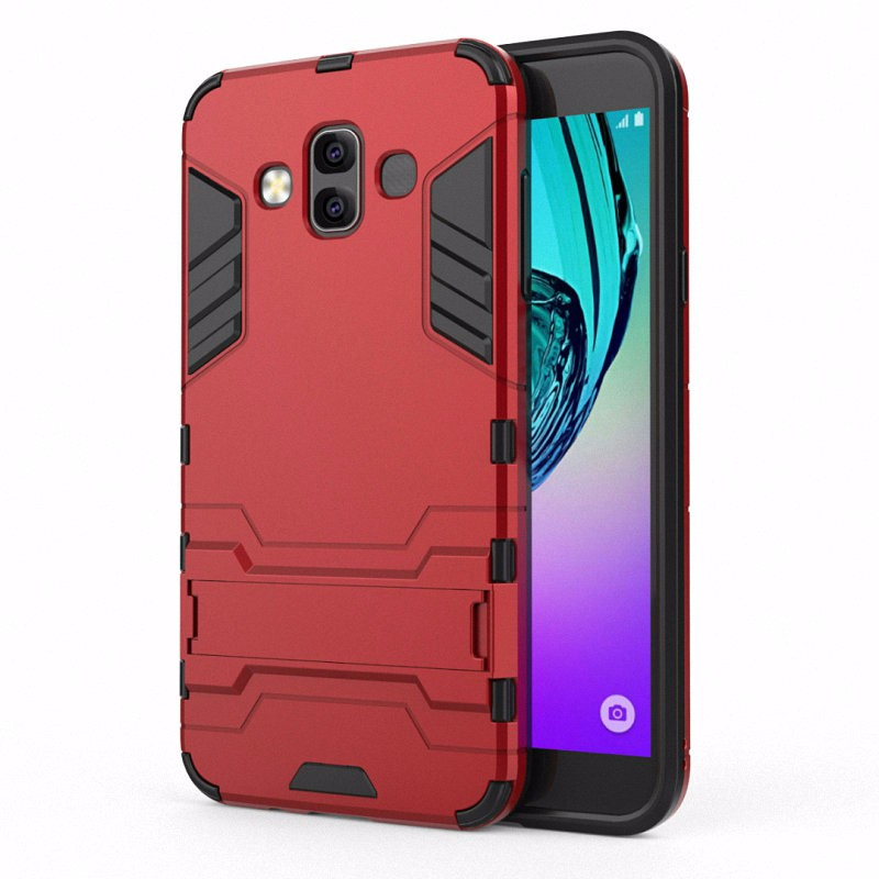 WIERSS красный для Samsung Galaxy J7 Duo 2018 J720 смартфон samsung galaxy j7 2016 sm j710fn gold