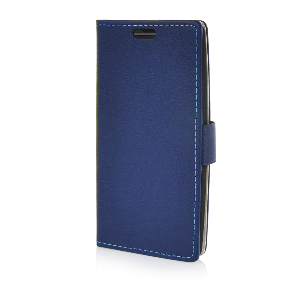 MOONCASE mooncase slim leather side flip wallet card slot pouch with kickstand shell back чехол для huawei honor 4 play brown