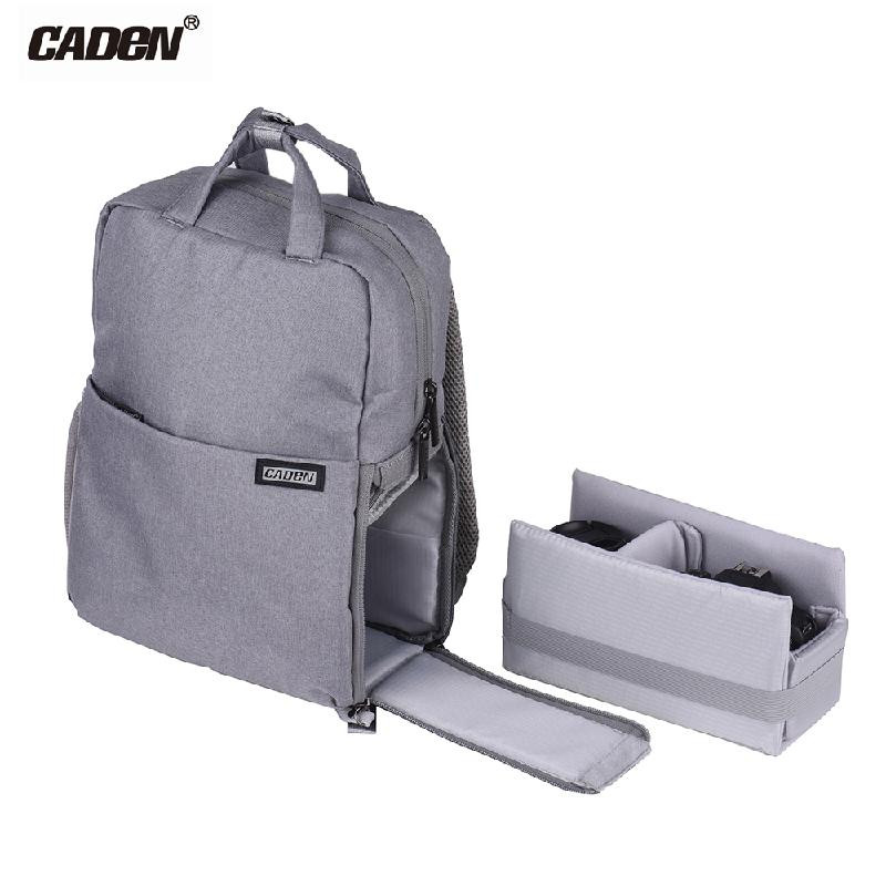 ANDOER Серый caden 2017 digital dslr camera bag waterproof photo backpack photography camera video bag for dslr canon nikon sony l5
