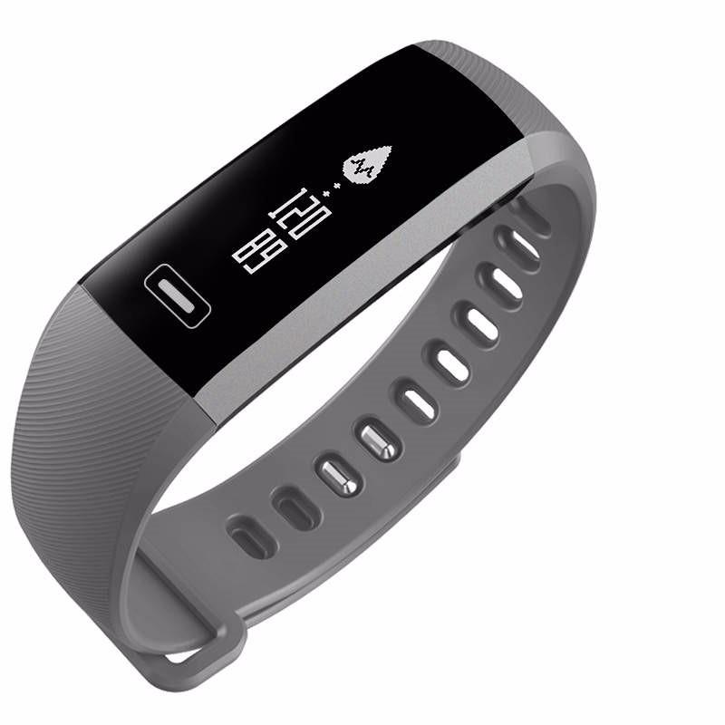 READ Серый e band bluetooth 4 0 wristband smart watch sports tracking sleep monitoring ip67