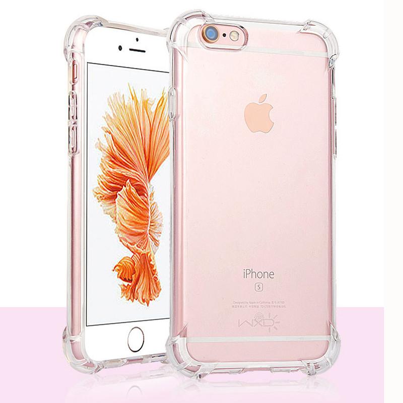 VCMIS прозрачный iPhone 6 6s чехол perfeo для apple iphone 6 6s tpu красный pf 5269
